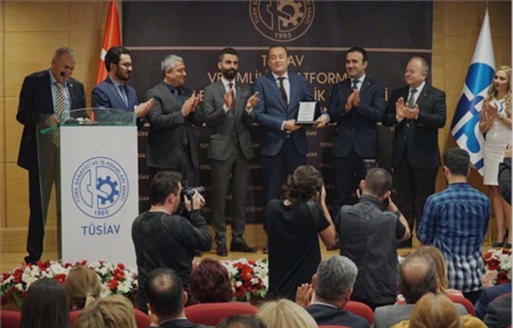 Tüsiav Özel Verimlilik Ödülü – Dr. semih Süreyya YAZICI